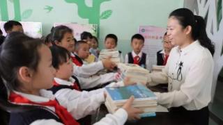 德州市实验小学开展对新疆英吉沙县捐赠图书活动