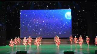 2019年6月9日紫薇风采少年儿童舞蹈比赛群舞儿童B组第一名《苗妹妹》一惟舞蹈棋盘校区