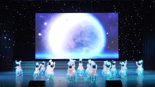 2019年6月9日紫薇风采少年儿童舞蹈比赛群舞儿童A组第三名《向天歌》菩心潮童