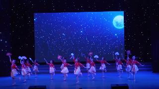 2019年6月9日紫薇风采少年儿童舞蹈比赛群舞儿童A组第五名《寄明月》邳州天天舞蹈学校