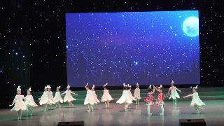 2019年6月9日紫薇风采少年儿童舞蹈比赛群舞儿童A组第六名《蒲公英的远行》邳州天天舞蹈学校