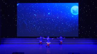 2019年6月9日紫薇风采少年儿童舞蹈比赛群舞儿童A组第八名《摆手组合》侯舞轩舞校