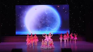 2019年6月9日紫薇风采少年儿童舞蹈比赛群舞儿童A组第十名《幽幽玉兰香》一惟舞蹈棋盘校区
