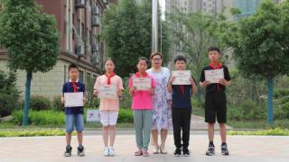 【校园传真】徐州市大学路实验学校小学部为在比赛中获省、市、区级奖项学生举行表彰大会
