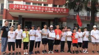 徐州市中小学棒垒球比赛,民主路小学获得第一名和第三名!