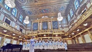 """【""""小雪花""""之声】哈尔滨市少年宫小雪花合唱三团,在世界舞台上唱响东方旋律"""