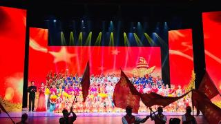 我们与共和国一起成长|我宫艺术团参与市离退休老同志庆祝新中国成立70周年文艺演出