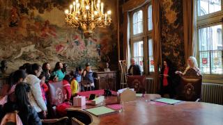 厦门市青少年宫凤凰花舞蹈团赴欧洲(比利时、荷兰)交流访问