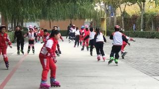 廊坊市第十七小学冰雪运动进校园启动仪式